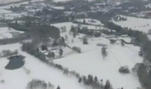 Europa: más de 40 muertos deja ola de frío siberiano