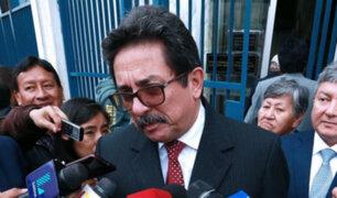 Exministro Enrique Cornejo fue detenido tras dar entrevista radial