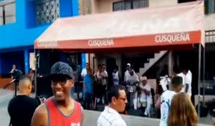 SMP: vecinos invaden pistas para realizar fiestas y vender cerveza