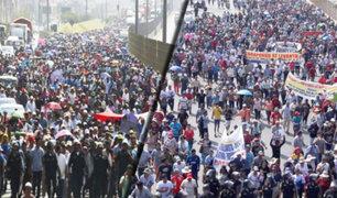 Vía de Evitamiento: más de 4 mil vecinos de Huarochirí participaron en marcha que terminó con enfrentamientos