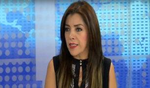 """Alejandra Aramayo: """"Fuerza Popular bancarizó todos sus aportes"""""""