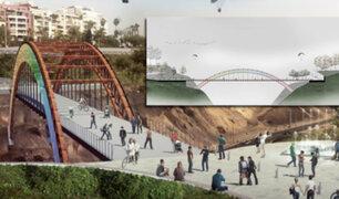 """Puente """"Arco Iris"""" unirá malecones de Barranco y Miraflores"""
