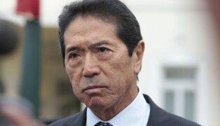 Jaime Yoshiyama fue detenido tras allanamiento de su vivienda