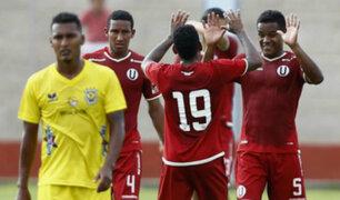 Universitario ganó 2-0 a Comerciantes y logró su primera victoria