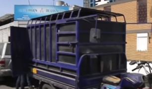 La Victoria: comerciante vendía balones de gas en plena vía pública