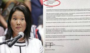 """José Chlimper asegura que carta de Yoshiyama tiene un """"error tipográfico"""""""