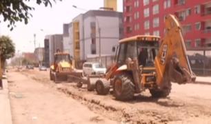 Breña: vecinos denuncian demora de obras desde hace un mes