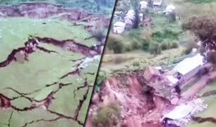 Cusco: aparecen nuevos deslizamientos de tierra y grietas que afectan a viviendas
