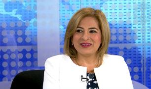 Congreso: Recomiendan suspender a Maritza García por 120 días