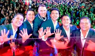 La Fiesta del Grupo 5: agrupación ofrece gran concierto por los 45 años de su fundación