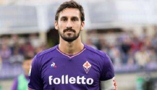 Davide Astori, capitán del Fiorentina muere durante concentración