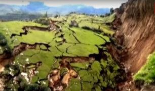 La tierra se abrió: 47 familias damnificadas y un colegio destruido en Cusco