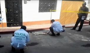 Taxista es baleado por delincuentes para robarle su vehículo