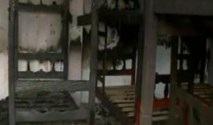 Comas: adolescente incendió albergue donde se alojaba