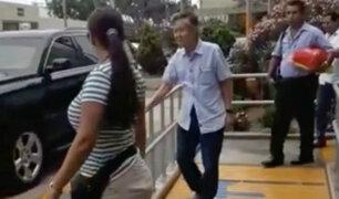 Alberto Fujimori fue dado de alta y dejó la clínica Centenario