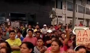 Panamericana Norte: continúan protestas por cierre de paraderos