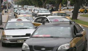 Congestión vehicular: a diario por las calles de Lima circulan más de 200 mil taxis