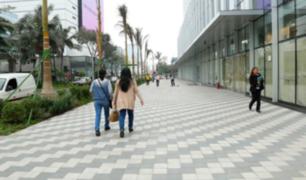 San Isidro: remodelarán centro financiero dando prioridad paso a peatones