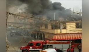 Cañete: se registró incendio de grandes proporciones en chifa