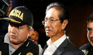 Jaime Yoshiyama: hallan una pistola y más de dos mil municiones en su vivienda