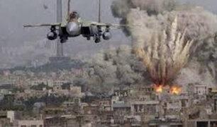 Siria: bombardeos de los últimos días deja 80 personas fallecidas