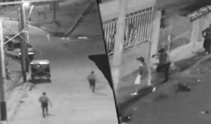 Tumbes: cámara capta persecución a balazos de peligroso hampon