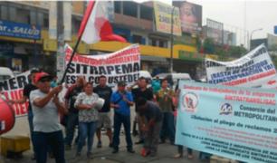 Choferes del Metropolitano anuncian huelga indefinida tras masivo despido
