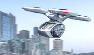 Suiza: presentan los primeros carros voladores que llegarán en 2019