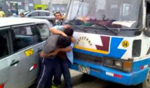 Choferes protagonizan enfrentamientos en la vía pública a causa del estrés
