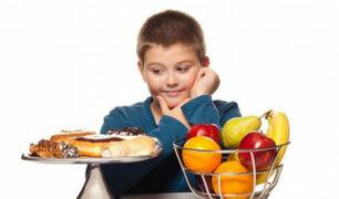 Minsa advierte que 2 millones y medio de niños sufre de obesidad y sobrepeso en el país