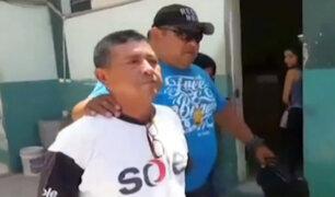 Chiclayo: Policía capturó a Carlos Vásquez, conocido como el 'Monstruo de El Porvenir'