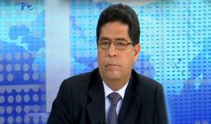 """Ministro Javier Barreda: """"Aún se negocia el aumento del sueldo mínimo"""""""