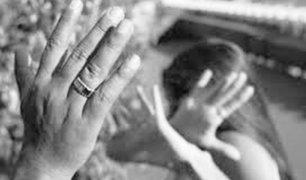 Devida: en 2017 hubo más de 22 mil casos de violencia contra la mujer