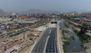 Línea Amarilla: así luce la obra vial a 100 días de su inauguración