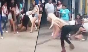 Callao: grupo de travestis protagonizan pelea en la avenida Tomás Valle