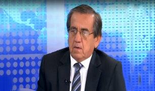 Jorge del Castillo en desacuerdo con nueva reglas para censura y cuestión de confianza