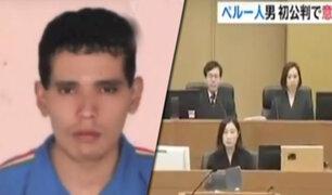 Japón: condenan a pena de muerte a peruano que asesinó a 6 personas