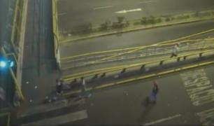 Capturan a menores de edad que robaban en Vía Expresa