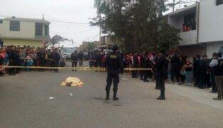 Los Olivos: asesinan policía en retiro durante intento de asalto