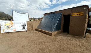 Moquegua: entregan 140 'casitas calientes' para combatir el frío