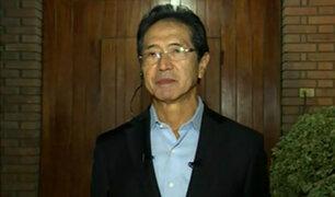 Jaime Yoshiyama fue detenido por la policía a su llegada a Lima