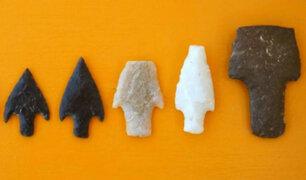 Hallan más de 100 puntas de lanzas de unos 12 mil años de antigüedad en Ica