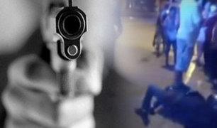 Barranca: disparan a joven para robarle su moto lineal