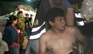 Manchay: en megaoperativo policial se desbarató peligrosa organización criminal