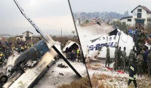 Nepal: al menos 50 personas han muerto en accidente de avión en Katmandú