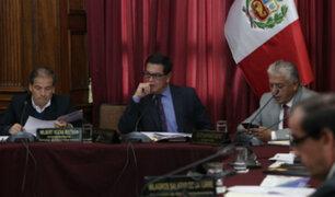 Comisión de Ética suspendió sesión por falta de quórum