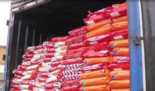 Lurín: capturan a delincuentes que robaron tráiler con comida para mascotas