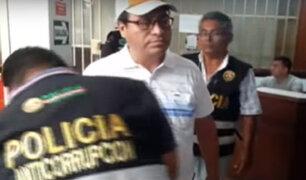 Chimbote: detienen a funcionario por recibir presunta coima