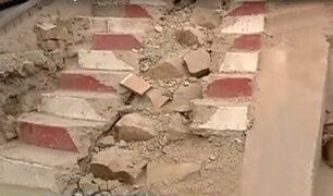 SJL: denuncian que obras de ampliación de desagües están paralizadas