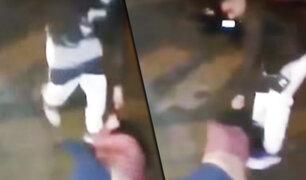 Mujer es agredida brutalmente por su pareja en Los Olivos